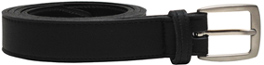 Town Belt by Vegetarian Shoes - Black