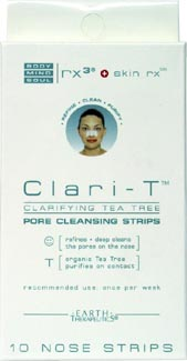Clari-T Pore Cleansing Strips by Earth Therapeutics