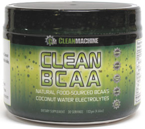 Clean BCAA Supplement by Clean Machine - Fruit Punch flavor