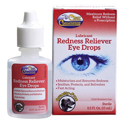 Redness Reliever Eye Drops by Clear Conscience THUMBNAIL