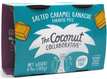 Salted Caramel Ganache Paradise Pots by The Coconut Collaborative