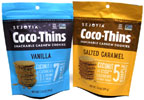 Coco-Thins Snackable Cashew Cookies by Sejoyia