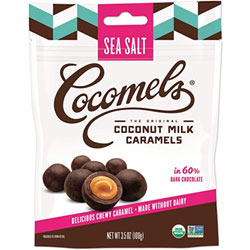 Cocomel Bites Chocolate Covered Caramels - Sea Salt THUMBNAIL