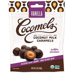 Cocomel Bites Chocolate Covered Caramels - Vanilla THUMBNAIL