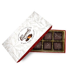 Organic Sea Salt Chocolate Covered Cocomels Gift Box THUMBNAIL