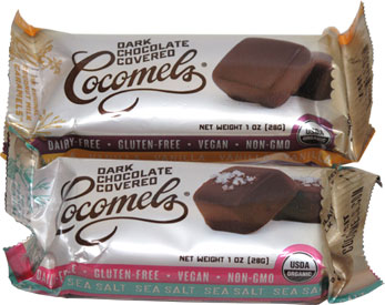 Cocomels Chocolate Covered Coconut Milk Caramels 2 pack