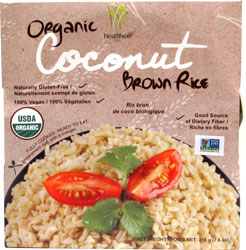 Organic Coconut Brown Rice by Healthee