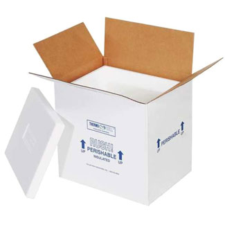 Cold Shipper Box with Biodegradable Ice Packs for ALL AT RISK ITEMS MAIN