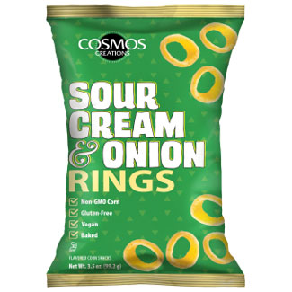 Vegan Sour Cream & Onion Rings by Cosmos Creations LARGE