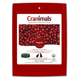 Cranimals Original Whole-Food Antioxidant Urinary Tract Support Supplement MAIN