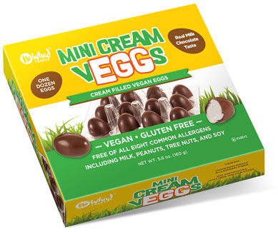 Mini Cream Veggs by No Whey! Foods