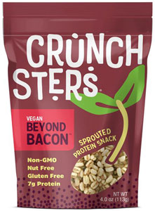 Crunchsters Vegan Beyond Bacon Sprouted Protein Snack
