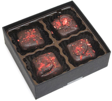 Dark Chocolate Meltaways by Dear Coco
