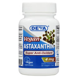 Astaxanthin Super Anti-Oxidant by DEVA - 4mg THUMBNAIL