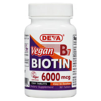 Vegan B7 Biotin by DEVA MAIN