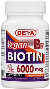Vegan B7 Biotin by DEVA