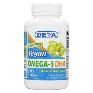 DEVA Omega-3 DHA Softgels MAIN