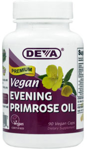 Vegan Organic Evening Primrose Oil by DEVA LARGE