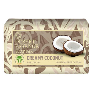 Desert Essence Bar Soap - Creamy Coconut MAIN