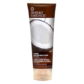 Desert Essence Organics Hand and Body Lotion - Coconut MAIN