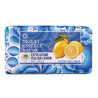 Desert Essence Bar Soap - Exfoliating Italian Lemon MAIN