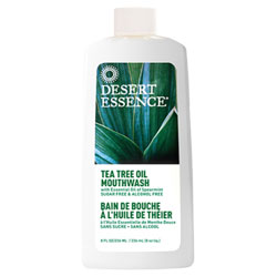 Desert Essence Tea Tree Oil Mouthwash - 8 oz. bottle THUMBNAIL