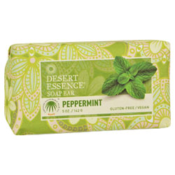 Desert Essence Bar Soap - Peppermint THUMBNAIL