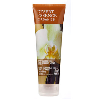 Desert Essence Organics Hand and Body Lotion - Spicy Vanilla Chai MAIN