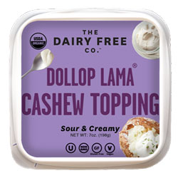 Dollop Lama Organic Cashew Sour Cream by The Dairy Free Co. THUMBNAIL