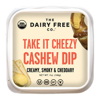 Take It Cheezy Organic Cashew Cheese Dip by The Dairy Free Co. MAIN