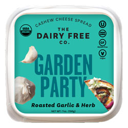 Garden Party Organic Cashew Cheese Spread by The Dairy Free Co. THUMBNAIL