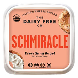 Schmiracle Organic Cashew Cheese Spread by The Dairy Free Co. THUMBNAIL