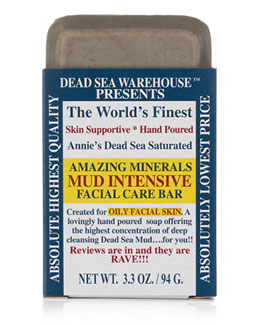 Amazing Minerals Mud Intensive Facial Care Bar by Dead Sea Warehouse LARGE