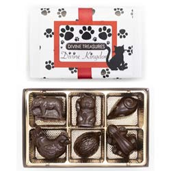 Divine Kingdom Chocolate Animal Assortment by Divine Treasures THUMBNAIL