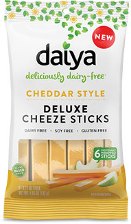 Daiya Cheddar Style Deluxe Cheeze Sticks