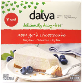 Vegan New York Cheezecake by Daiya