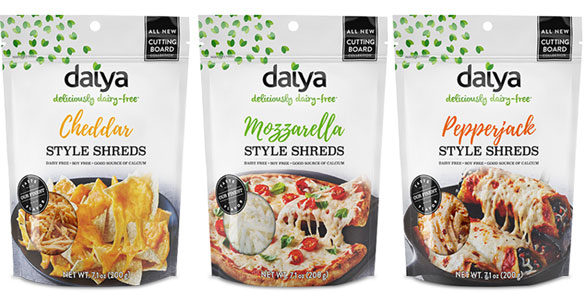 Daiya Cutting Board Collection Vegan Cheese Shreds