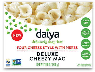 Daiya Four Cheese Style with Herbs Deluxe Cheezy Mac