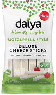 Daiya Mozzarella Style Deluxe Cheeze Sticks