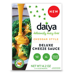 Daiya Deluxe Cheeze Sauce - Cheddar Style THUMBNAIL
