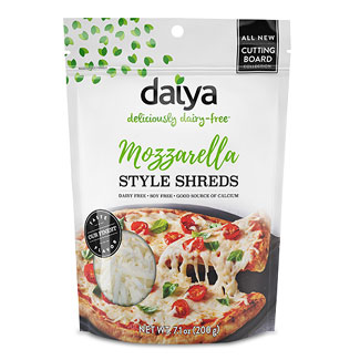 Daiya Cutting Board Cheese Shreds- Mozzarella Style LARGE
