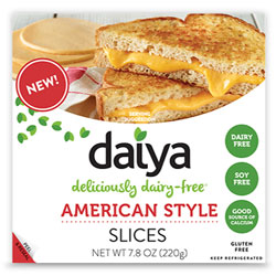 Daiya Cheese Slices - American Style THUMBNAIL