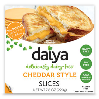 Daiya Cheese Slices - Cheddar Style MAIN