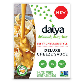 Daiya Deluxe Cheeze Sauce -  Zesty Cheddar Style LARGE