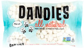 Mini Dandies Non-GMO Air-Puffed Vegan Marshmallows by Chicago Vegan Foods