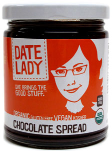 Organic Chocolate Spread by Date Lady