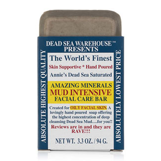 Amazing Minerals Mud Intensive Facial Care Bar by Dead Sea Warehouse MAIN