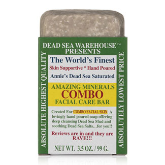 Amazing Minerals Combo Facial Care Bar by Dead Sea Warehouse MAIN