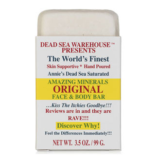 Amazing Minerals Original Face & Body Bar by Dead Sea Warehouse MAIN