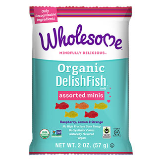 Organic DelishFish Assorted Minis Candy by Wholesome - 2 oz. bag MAIN